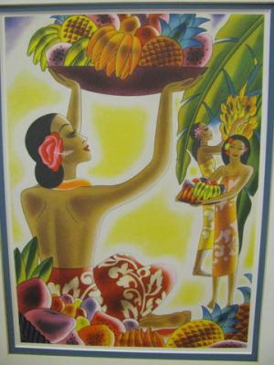 Aloha Menu Cover
